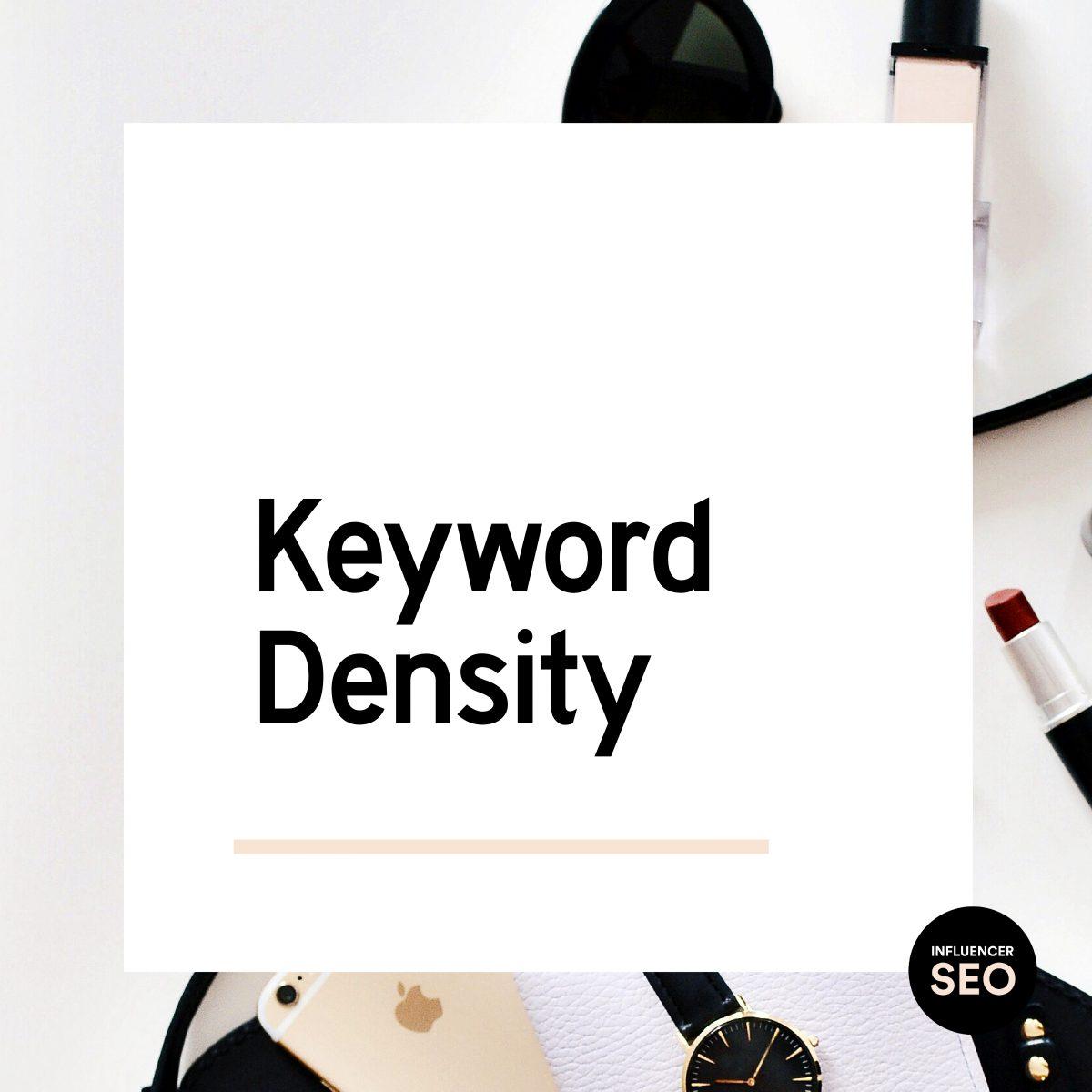 What is keyword density