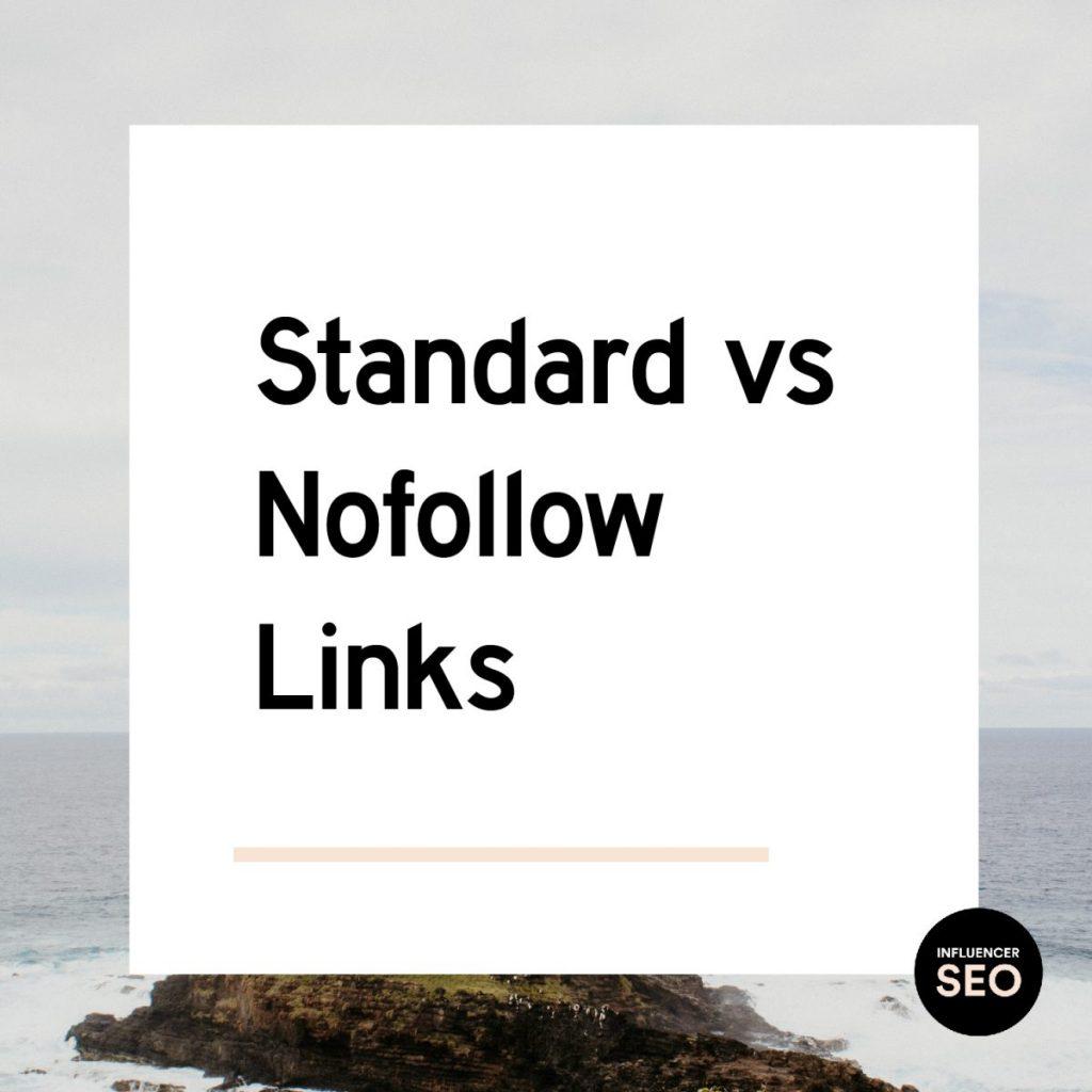 standard vs no follow links